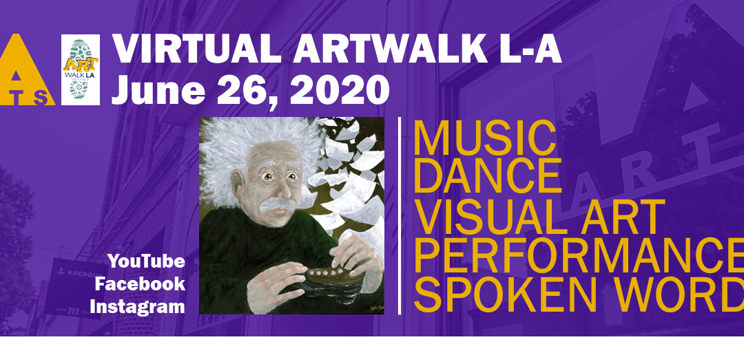 June 26 virtual Art Walk LA!