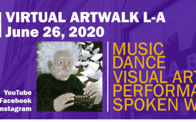 June 26 virtual Art Walk LA!