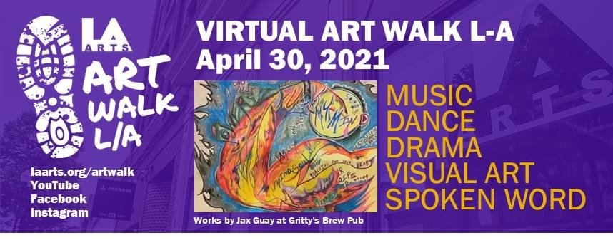 April 2021 virtual Art Walk LA