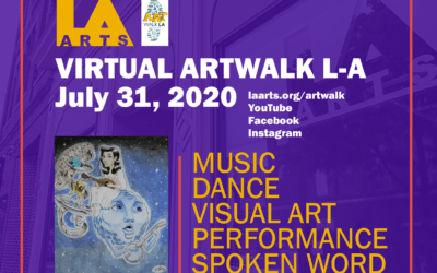 July 31 virtual Art Walk LA!