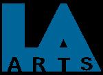 LA Arts Logo 2015 Blue