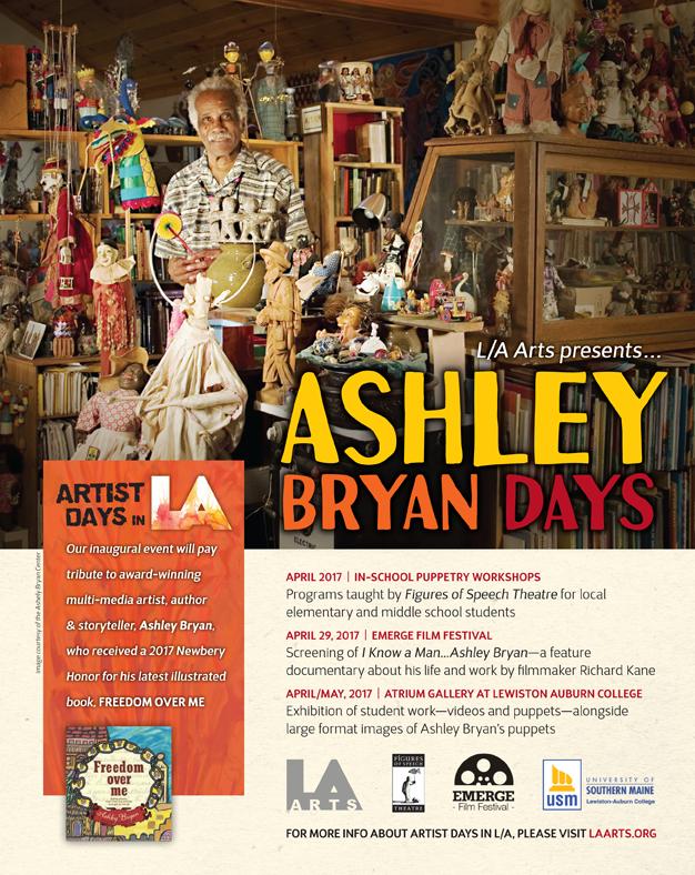 L/A Arts announces Ashley Bryan Days in LA