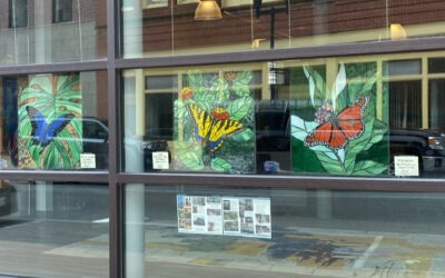 Art in the Windows in Lewiston This Spring