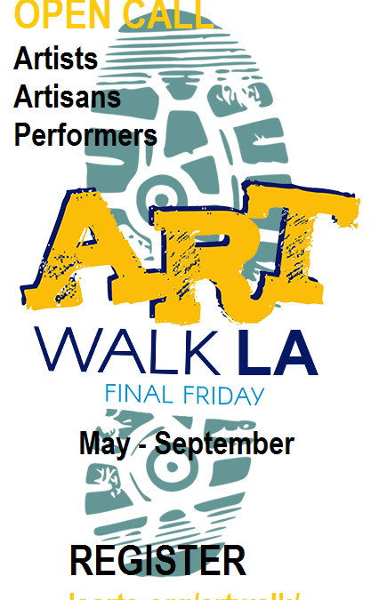 Register for Art Walk LA 2020
