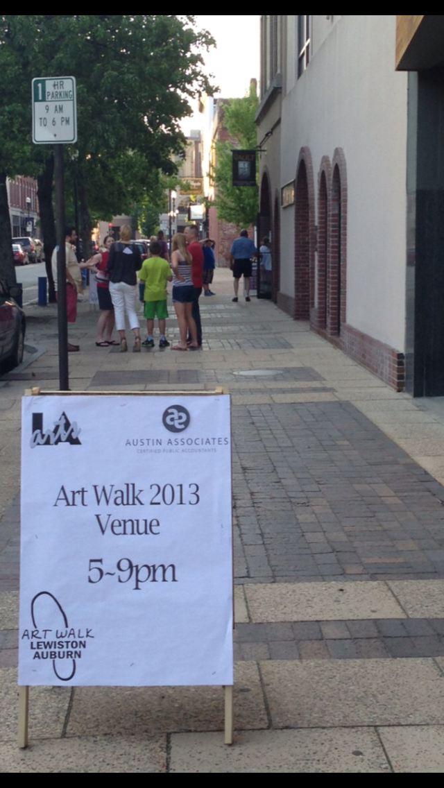 Are you ready? Color ME! Art Walk Lewiston Auburn is Today!